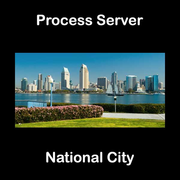 Process Server National City