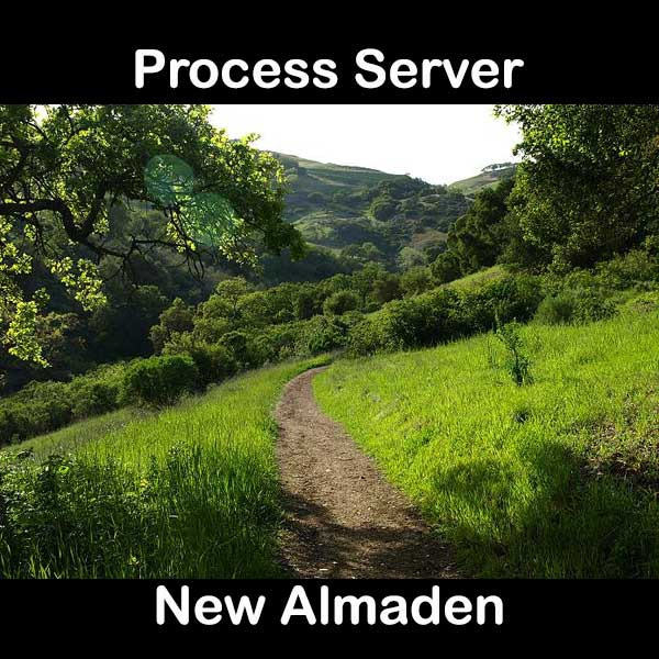 Process Server New Almaden