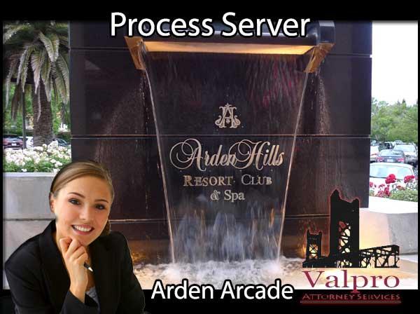 Process Server Arden Arcade