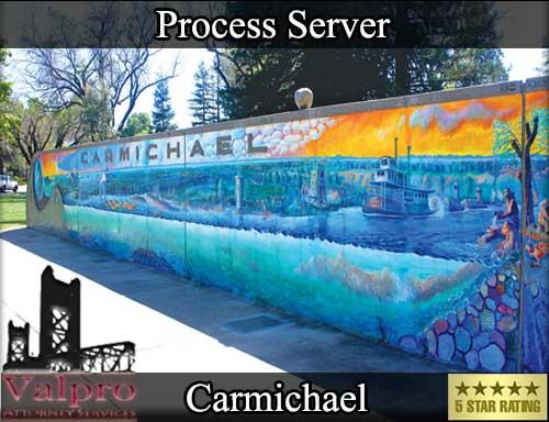 Process Server Carmichael