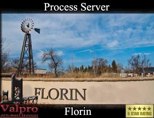 Florin California Registered Process Server