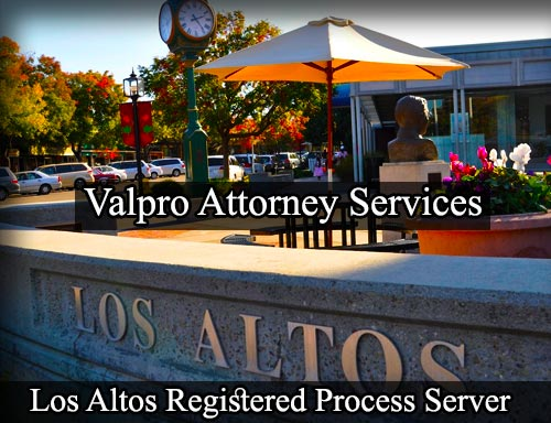Los Altos Registered Process Server