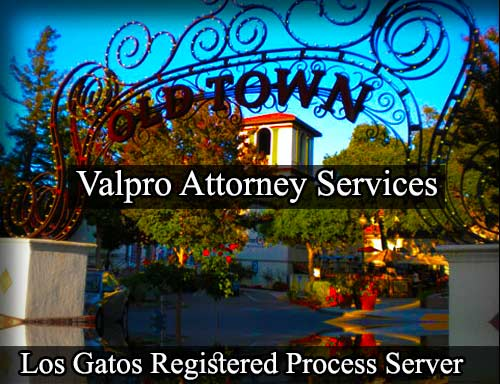 Los Gatos California Registered Process Server