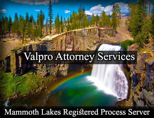 Mammoth Lakes Registered Process Server