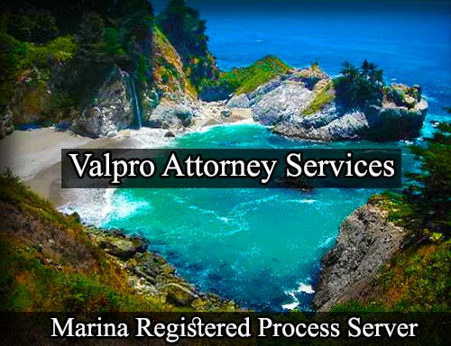 Marina California Registered Process Server