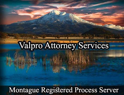 Montague Registered Process Server