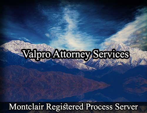Montclair Registered Process Server