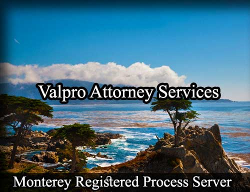 Monterey Registered Process Server