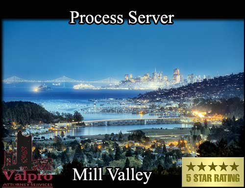 Process Server Mill Valley