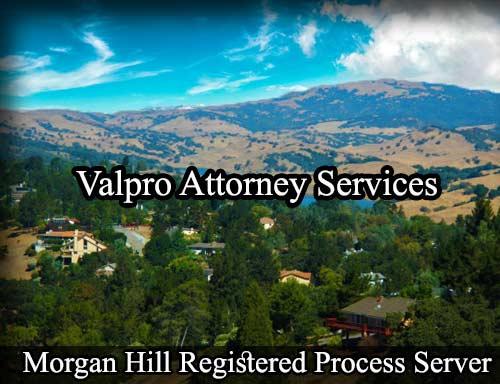 Morgan Hill California Registered Process Server