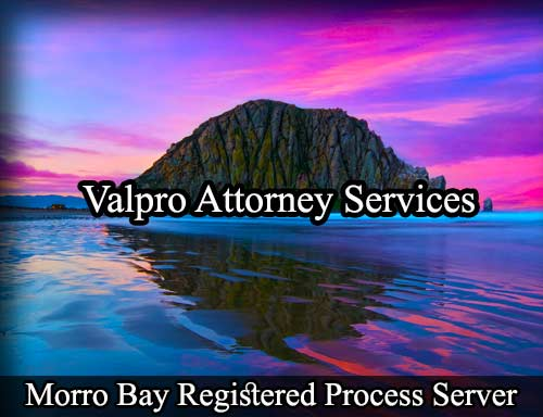 Morro Bay California Registered Process Server