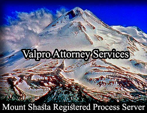 Mount Shasta Registered Process Server