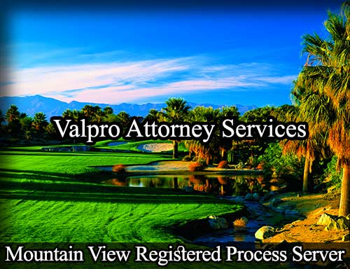 Mountain View California Registered Process Server
