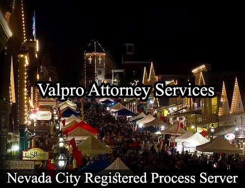 Nevada City California Registered Process Server