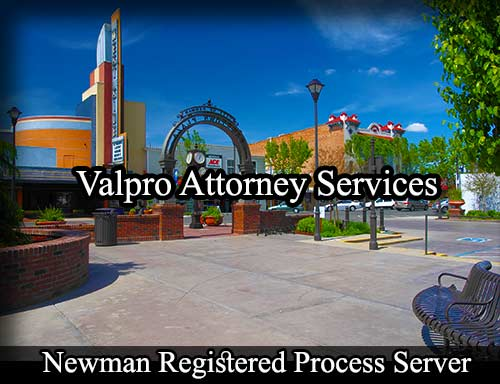 Newman California Registered Process Server