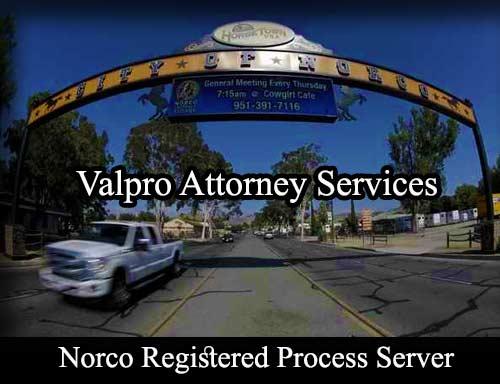 Norco Registered Process Server