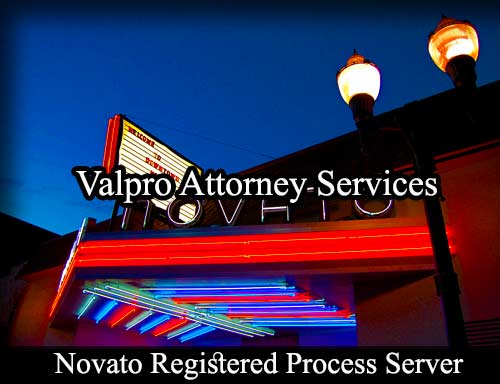 Novato California Registered Process Server