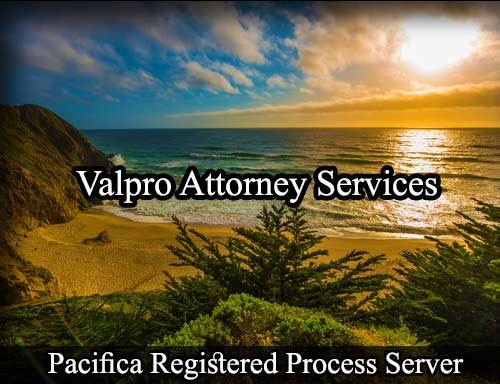 Pacifica California Registered Process Server