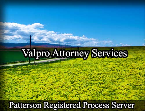 Patterson California Registered Process Server