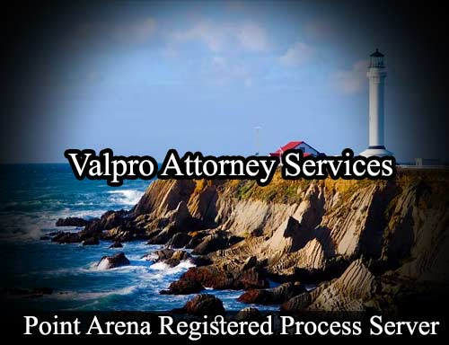 Point Arena California Registered Process Server