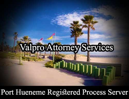 Port Hueneme Registered Process Server