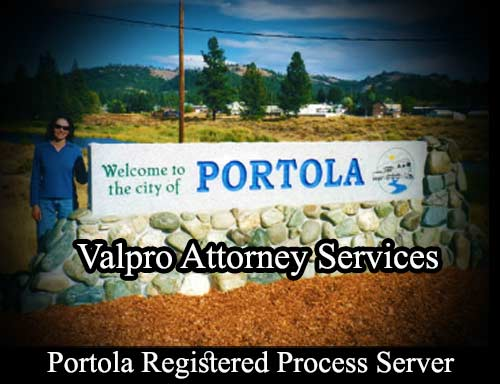 Portola Registered Process Server
