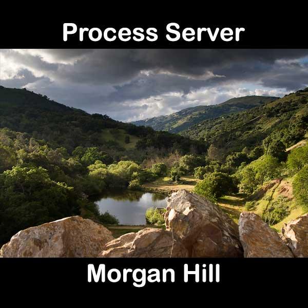 Process Server Morgan Hill