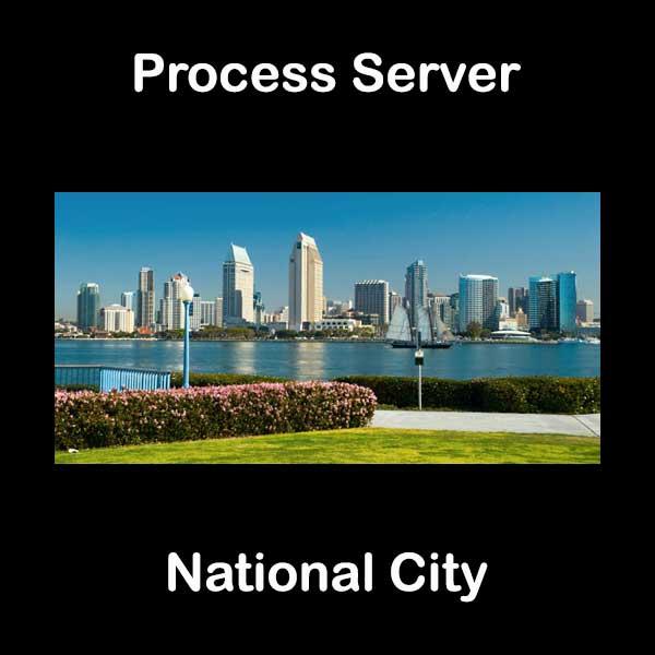 Process Server National City