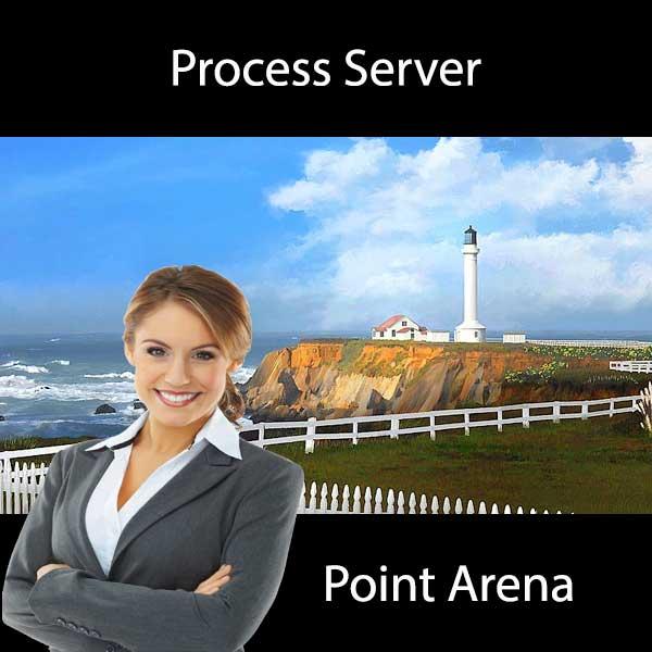Process Server Point Arena