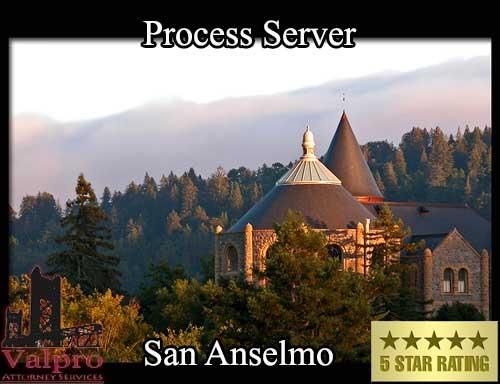 Process Server San Anselmo