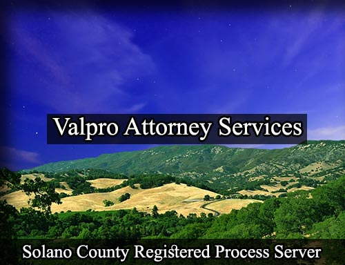 Solano County Registered Process Server