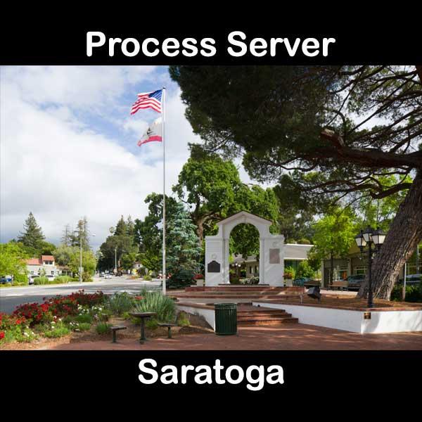 Process Server Saratoga