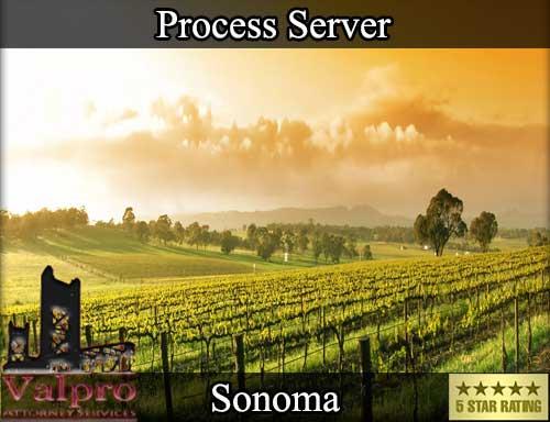 Process Server Sonoma