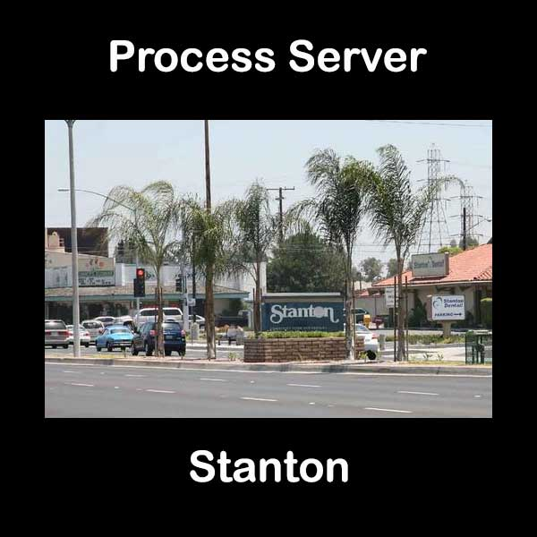 Process Server Stanton