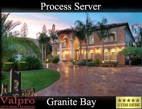 Granite Bay California Registered Process Server