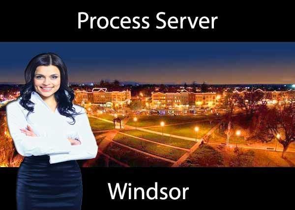 Process Server Windsor