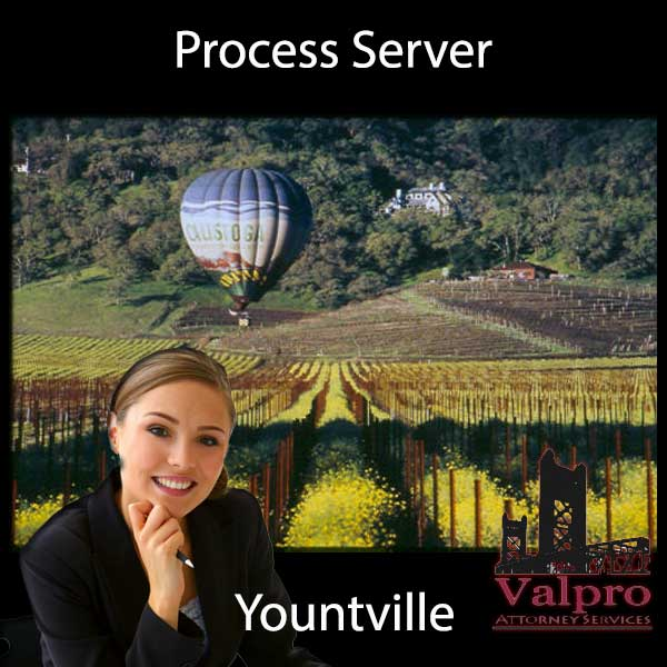 Process Server Yountville