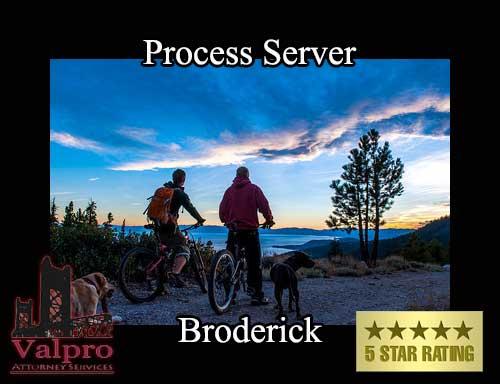 Process Server Broderick