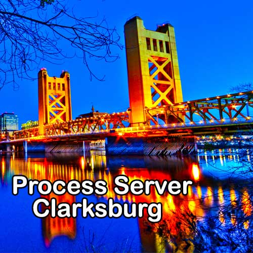 Clarksburg California Registered Process Server