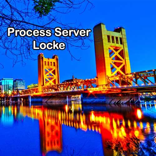 Process Server Locke