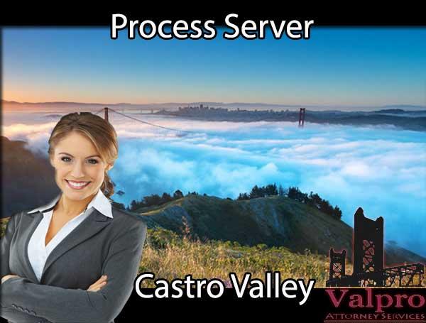 Process Server Castro Valley