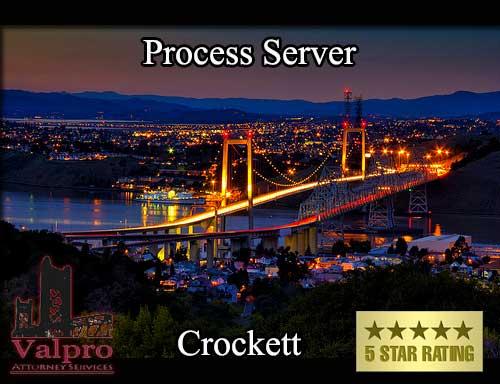 Process Server Crockett