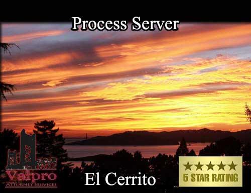 Process Server El Cerrito
