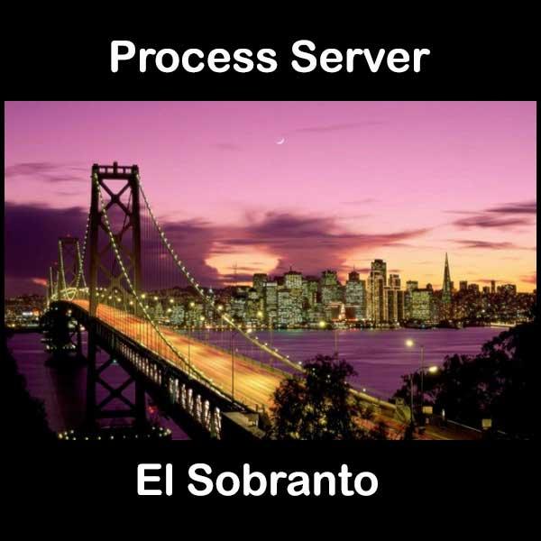 Process Server El Sobranto