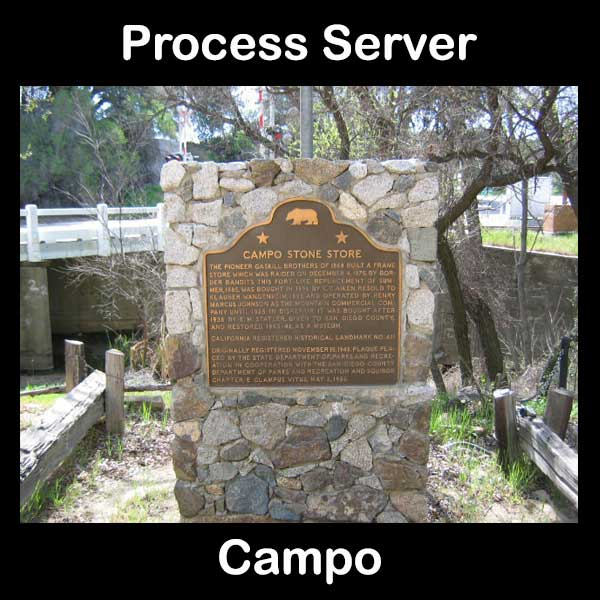 Process Server Campo