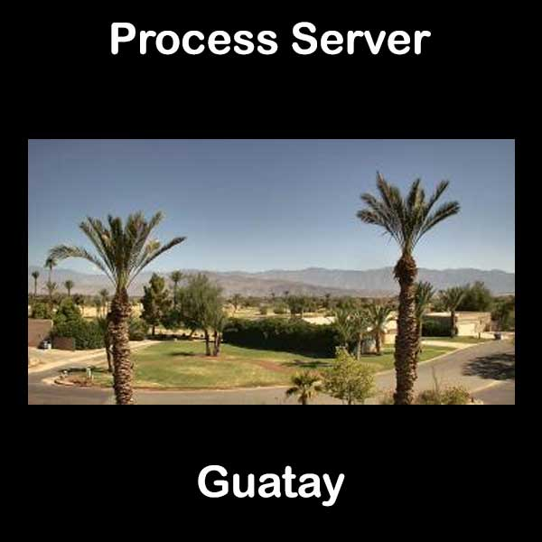 Process Server Guatay