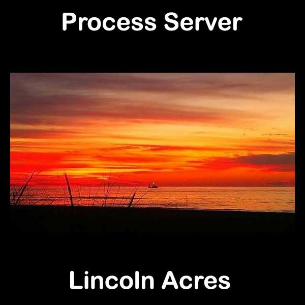 Process Server Lincoln Acres