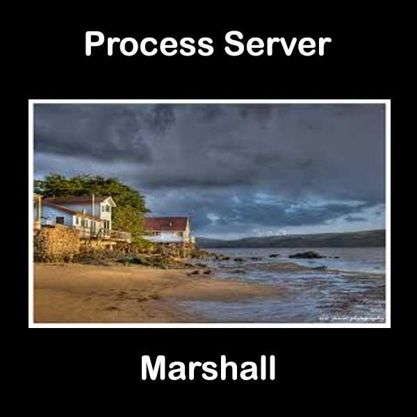 Process Server Marshall