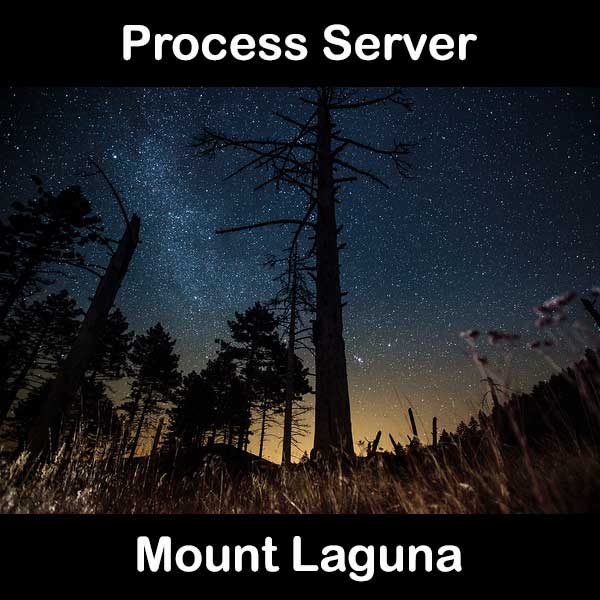 Process Server Mount Laguna
