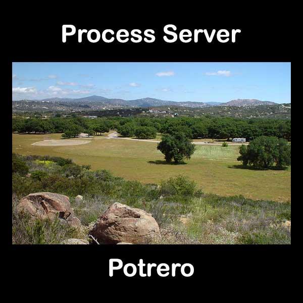 Process Server Potrero